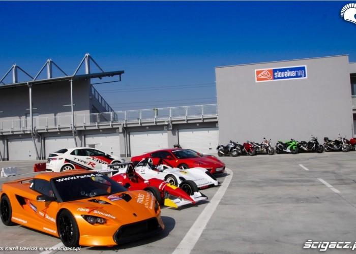 Race track slovakia ring depot