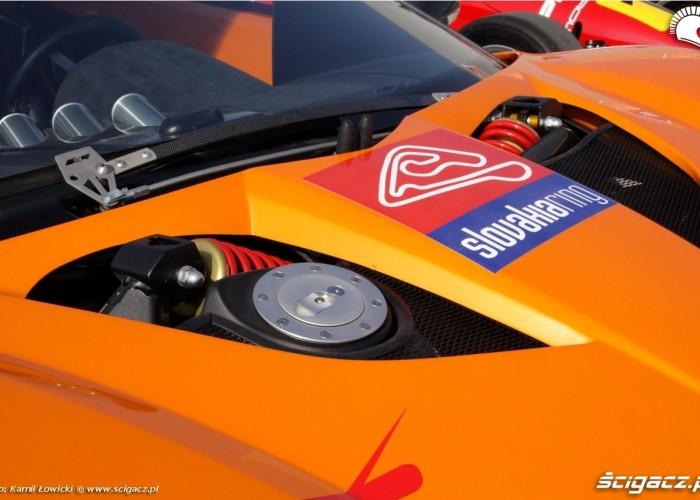Race track slovakia ring samochody treningowe
