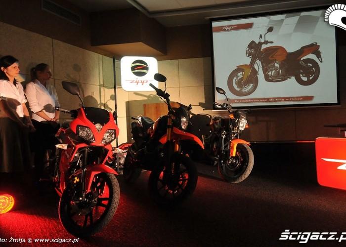 Zipp i motocykle