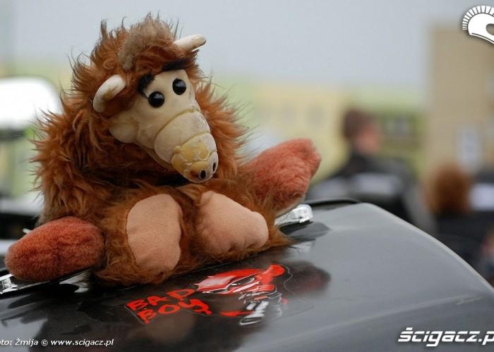 Maskotka Alf Bad Boy BP - motocyklowa niedziela 2010