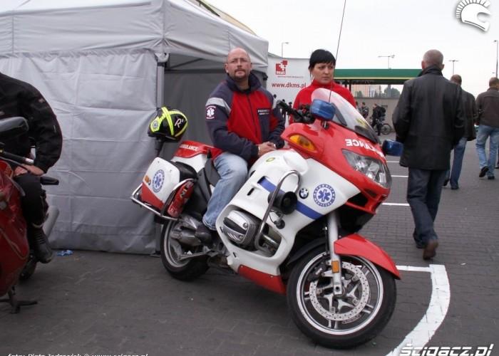 ambulans motocyklowy motocyklowa niedziela BP 2010