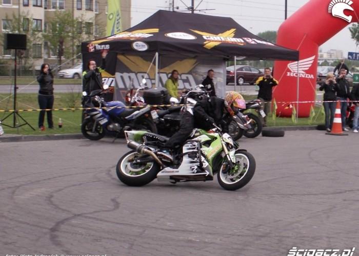 drift motocyklem pasio motocyklowa niedziela BP 2010
