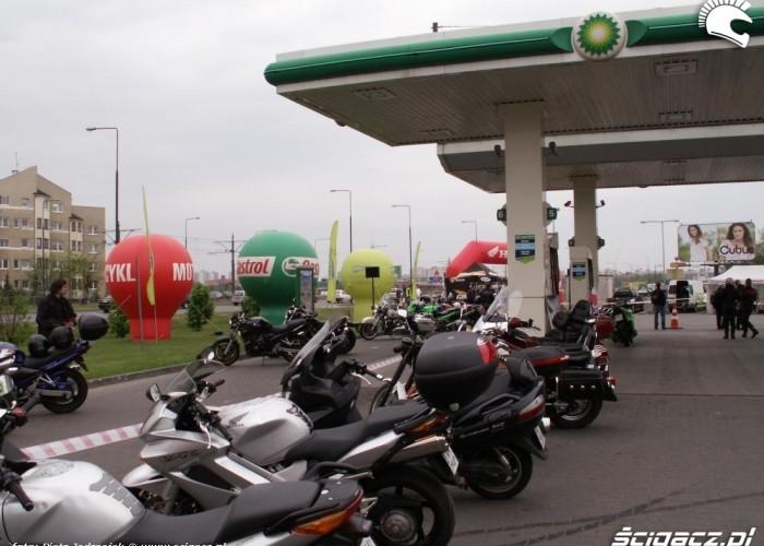 motocykle na BP motocyklowa niedziela BP 2010