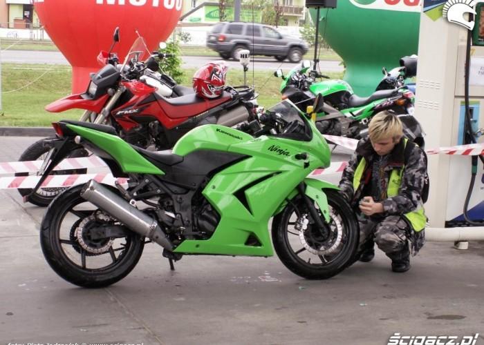 mycie motocykla motocyklowa niedziela BP 2010
