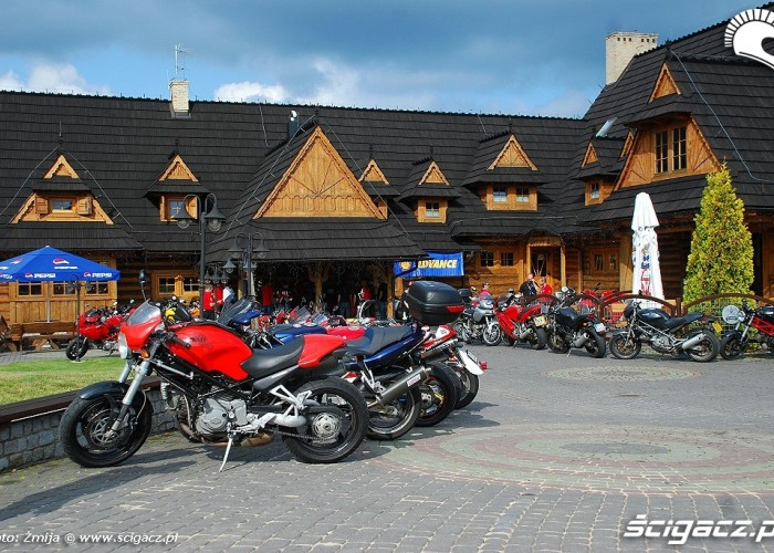 Hotel Panorama zlot Ducatistow