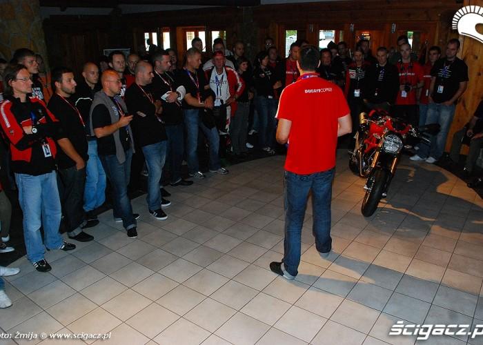 Michal Przezdziek o nowosiach Ducati
