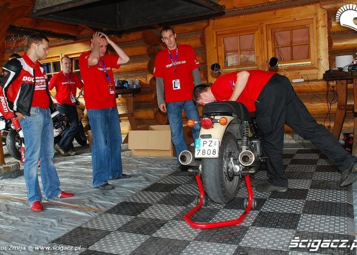 badanie techniczne Ducati