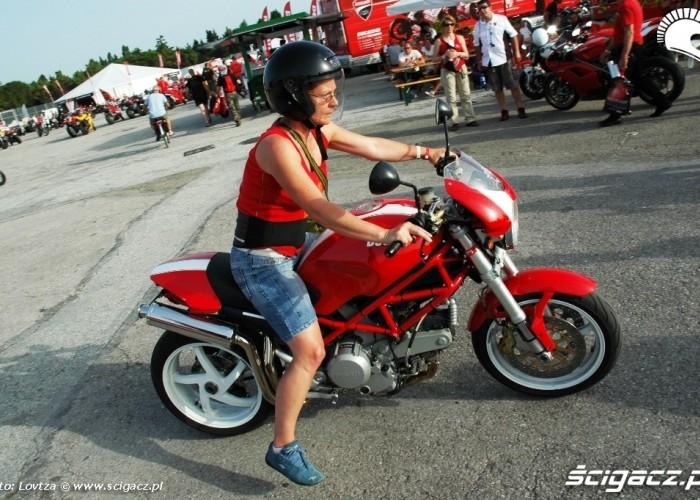 Babcia na Monsterze Ducati WDW 2010