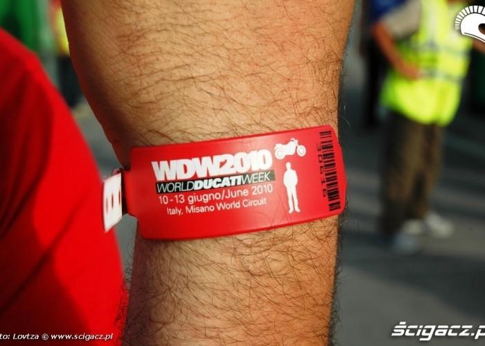 Ducati WDW 2010 Wejsciowka