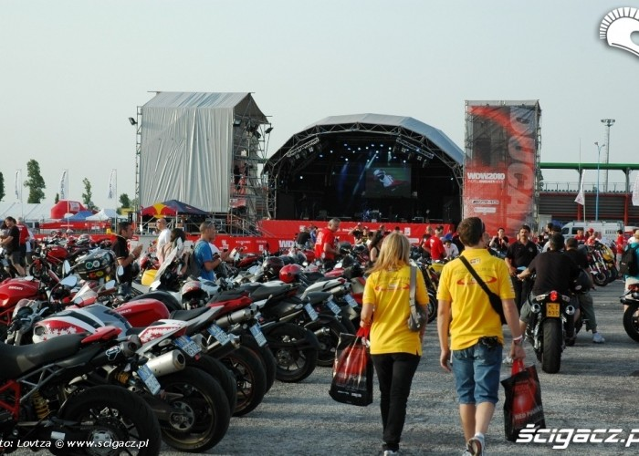 Ducati WDW 2010 pod scena