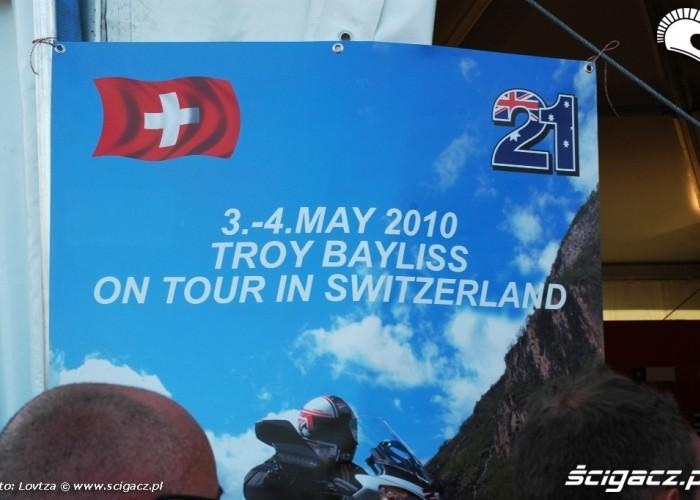 Ducati WDW 2010 wycieczki z Baylissem
