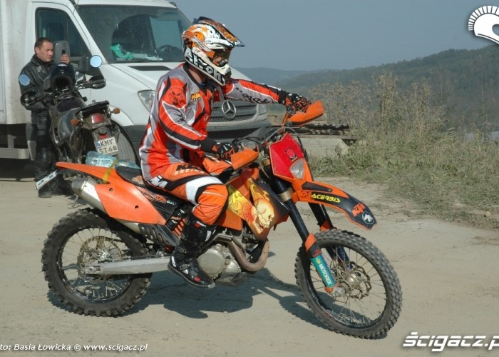 Yamaha Offroad Experience 2010 KTM team