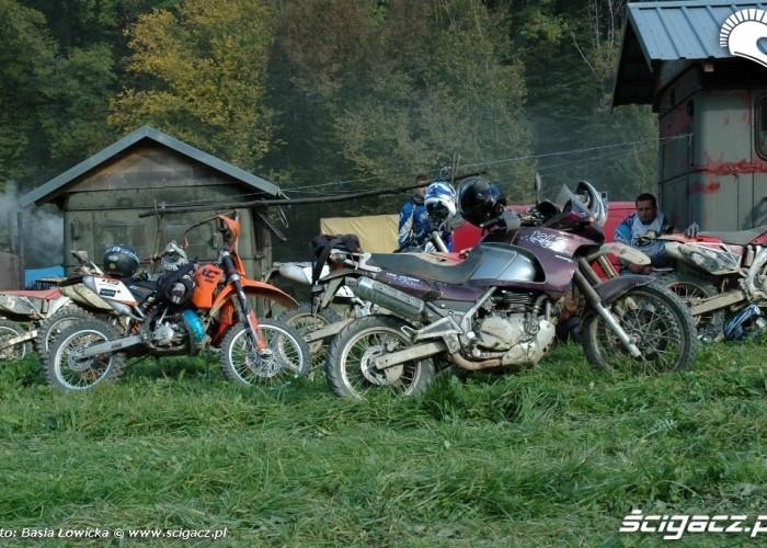 Yamaha Offroad Experience 2010 Steznica motocykle