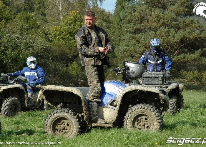 Yamaha Offroad Experience 2010 Steznica quad