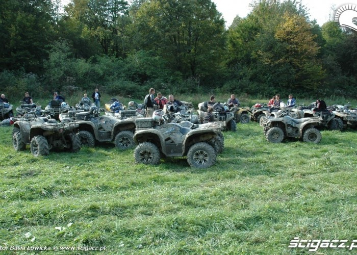 Yamaha Offroad Experience 2010 Steznica quady