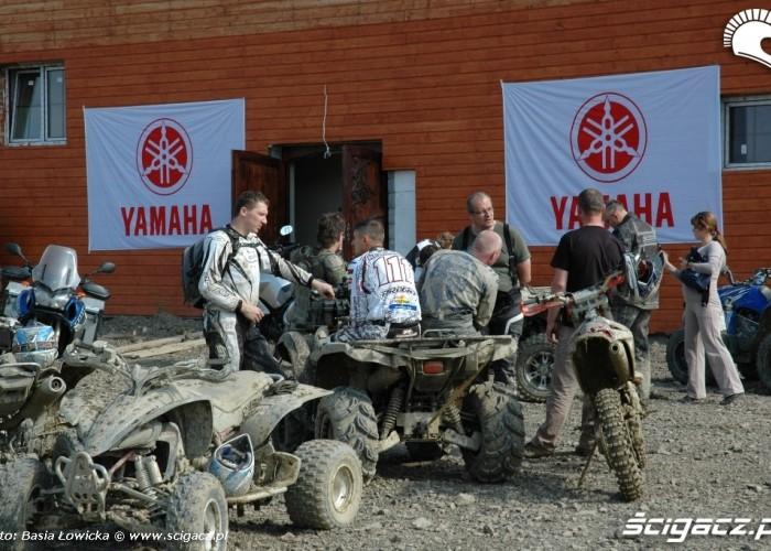 Yamaha Offroad Experience 2010 baza techniczna