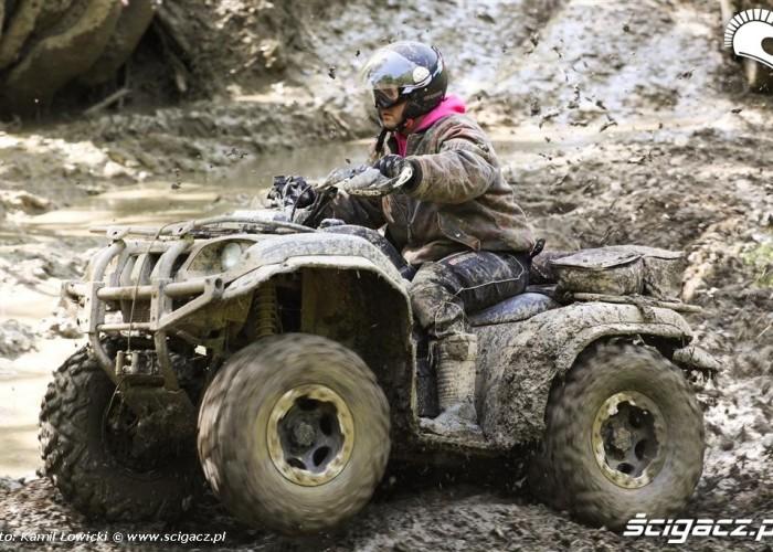 Duzo gazu Yamaha Offroad Experience Bieszczady Baligrod
