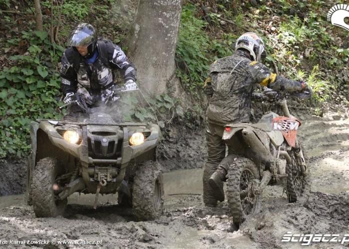 Quady i motocykle Yamaha Offroad Experience Bieszczady