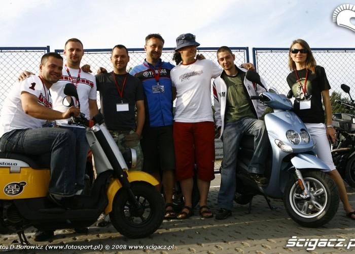 dream team trautman kazanecka yamaha riding experience 2008 poznan c mg 0008