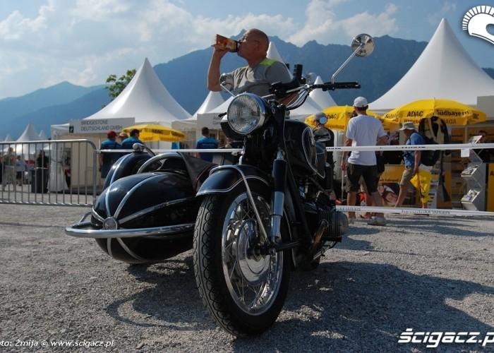 Motocykl zabytkowy BMW