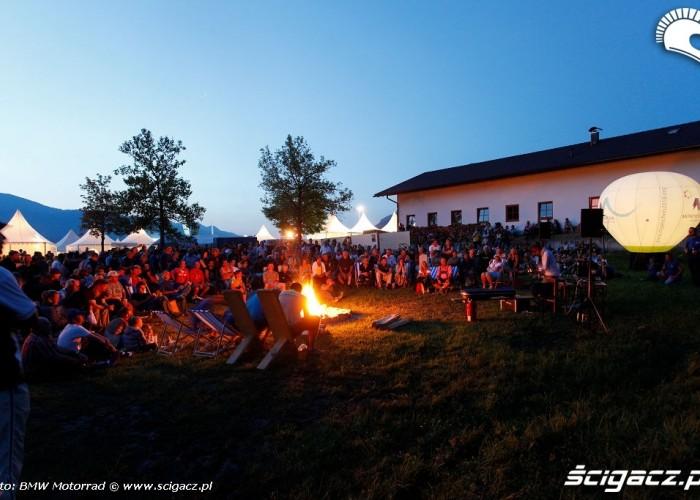 Ognisko na Garmisch