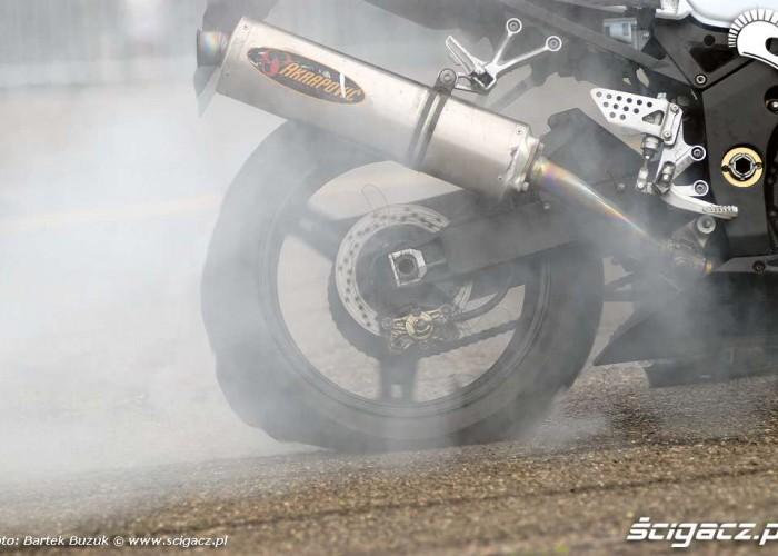 burned tire