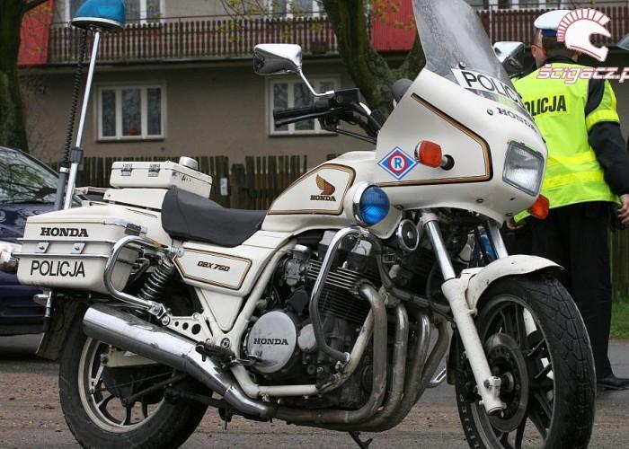 motocykl policja otwarcie sezonu czestochowa 2008