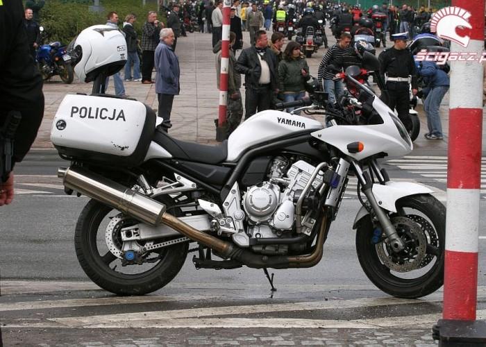 motocykl policyjny otwarcie sezonu czestochowa 2008