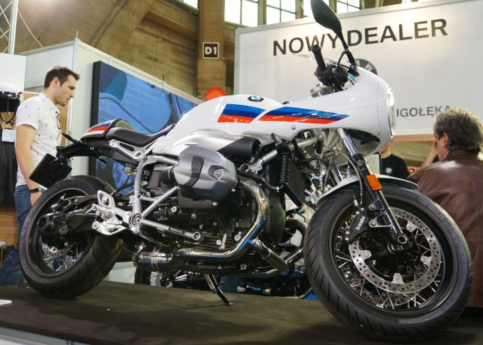 bmw r ninet racer wroclaw motorcycle show 2017