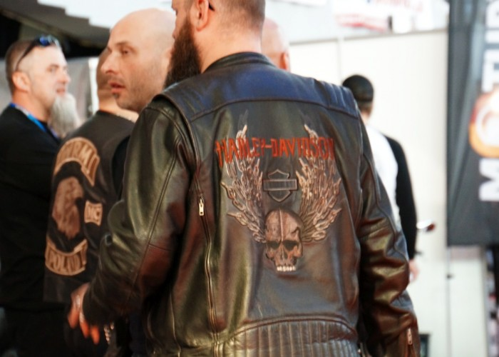 fan harley davidson na wroclaw motorcycle show 2017
