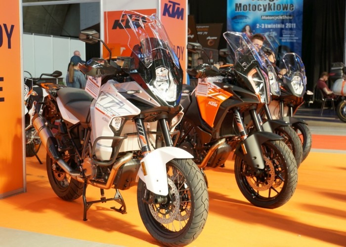 ktm wroclaw motorcycle show 2017
