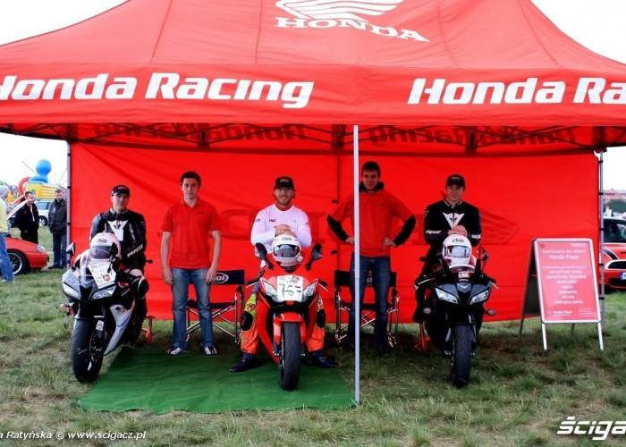 Wyscigi Bemowo Warszawa Team Honda