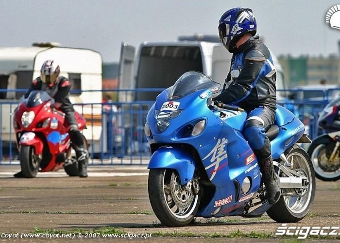 Hayabusa Turbo Blue