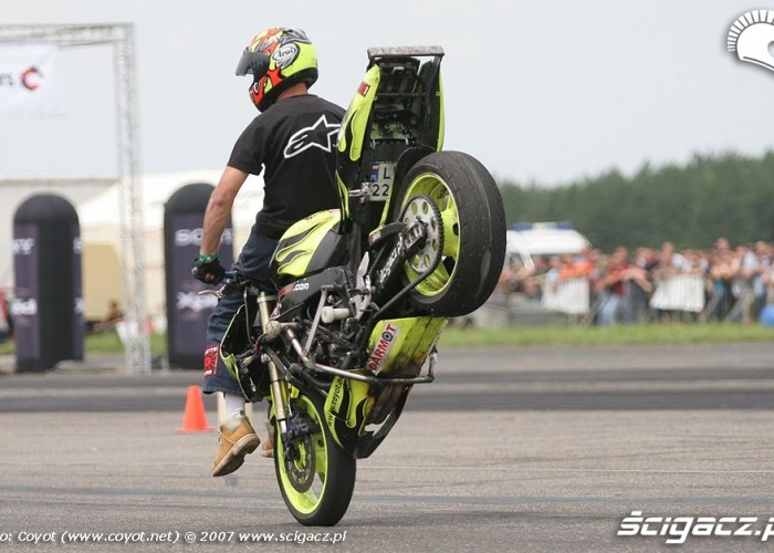 King of europe Raptowny Stoppie 2