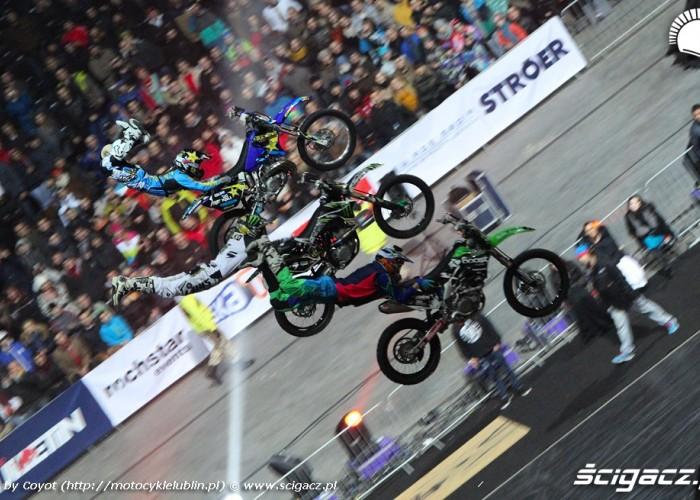 Freestyle motocross Nitro Circus Live 2013