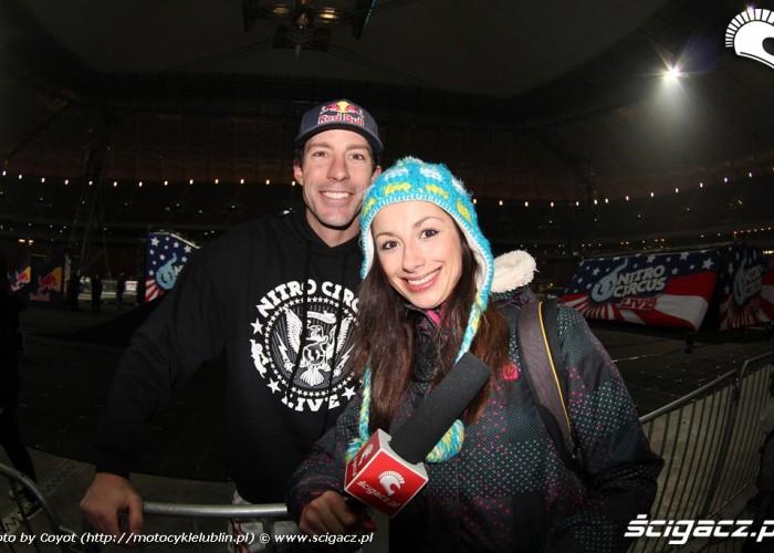 Magda i Pastrana Nitro Circus 2013