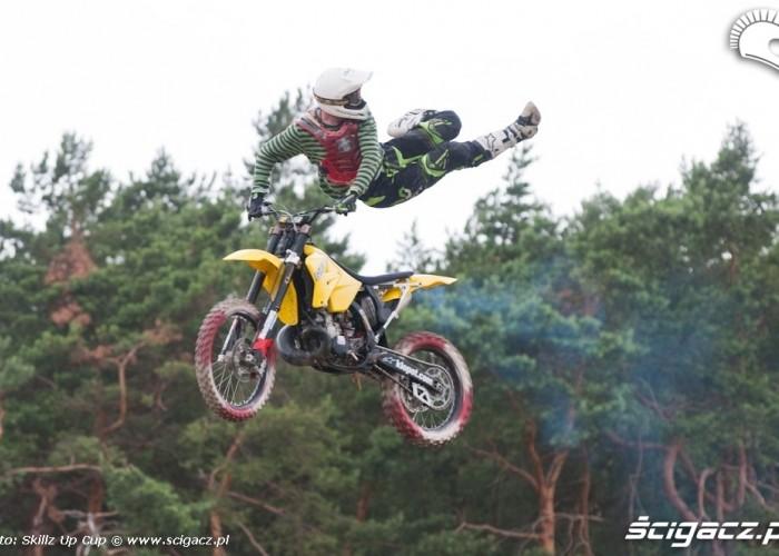 Klopot na motocyklu