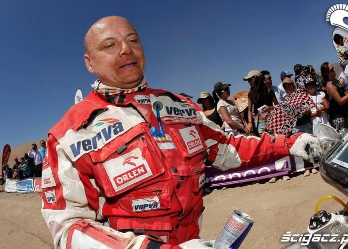 Czachor na mecie 10 etapu Rajdu Dakar 2011
