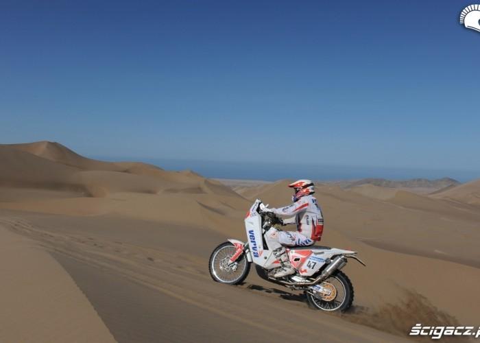 Dabrowski Marek na wydmach pustyni Atacama
