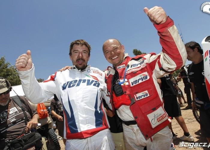 Dabrowski i Czachor Dakar 2011