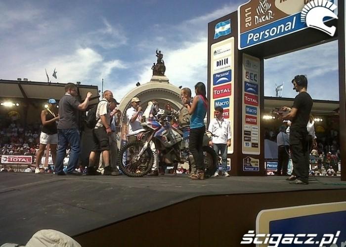 Dakar 2011 Buenos Aires podium