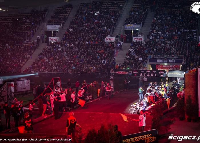 prezentacja zawodnikow atlas arena endurocross