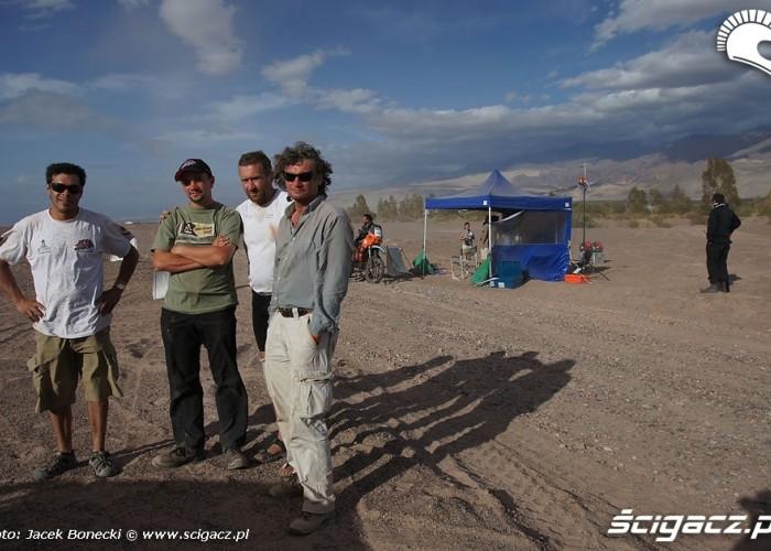 ATV Polska ekipa Rajdu Dakar