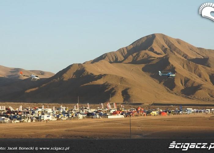Atacama krajobraz Rajdu Dakar