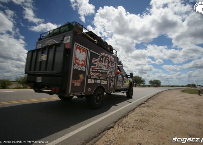 Auto serwisowe Sonika Rajd Dakar