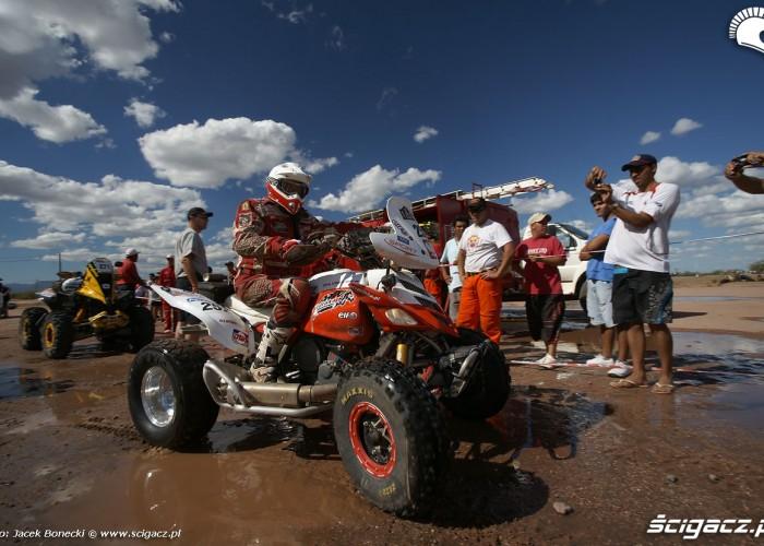 Biwak Dakar 2010 Rafal Sonik