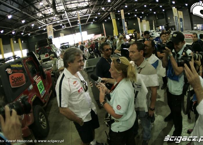 Carlos-Sainz wywiad przed startem zawodow