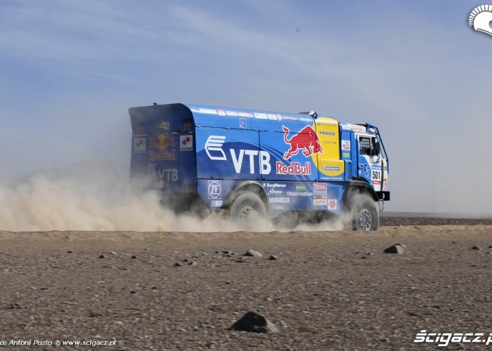 Ciezarowka Kamaz Rajd Dakar 2010