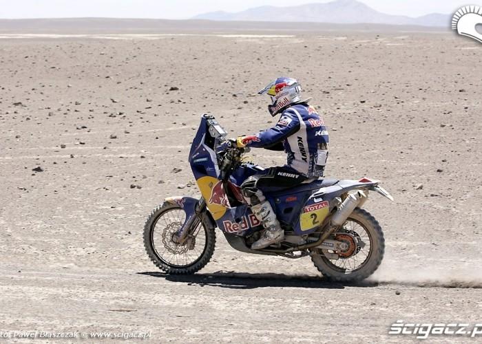 Cyril Despres na trasie Dakaru