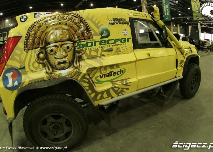 BMW auto Dakar 2010